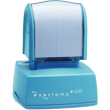 Looking for a pre-inked stamper? The Evostamp EP-Q30 allows for 8 lines of customization for either office or personal use.