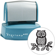 Use the Evostamp EPR50 custom pre-inked stamp to make large round impressions, an ideal office stamp. Find it at EZ Custom Stamps or call (608) 310-4300.