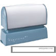 The Evostamp EP12 pre-inked stamp makes a great custom ink stamp for personalized text. Shop EZ Custom Stamps or call (608) 310-4300 for more information.