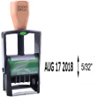 This ecofriendly stamp dater is perfect for the office! The 2000 Plus Green Line 2015 model is self-inking and features 1 ink color for heavy duty stamping use.