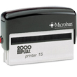 Looking for a custom self-inking signature stamp maker? Shop this 2 line 2000 Plus stamp maker perfect for the workplace or home office.
