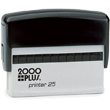 Looking for a custom self-inking signature stamp maker? This 4 line, 2000 Plus Printer Line P25 Self-inking Signature Stamp Maker is perfect for the office. Buy today.