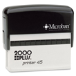 Shop EZ Custom Stamps for the Cosco 2000 Plus P45 custom line stamp, a great self-inking stamp for addresses and signatures. Call (608) 310-4300 for more information.