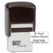 Make the perfect customized address stamp or logo stamp with this 2000 Plus P52 Self-Inking Stamp Printer. Buy today from the EZ Custom Stamps store.