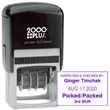 This 2000 Plus self-inking 1-color stamp dater generates a month/day/year/format stamp valid for 12 years. Buy today from the EZ Custom Stamps store.