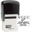 Shop EZ Custom Stamps for the perfect logo stamp for business. The Cosco 2000 Plus P54 has more lines for text or space for artwork. Click or Call (608) 310-4300.