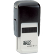 2000 Plus Printer Q 17 (Q17) self-inking square custom stamp is re-inkable with built-in pad. Ideal as a control stamp, initials stamp, small logo stamp, and monograms. Provides a clearly expressive small imprint.