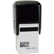 "Cosco 2000 Plus Printer Q 30 (Q30) is a self-inking custom stamp with square 1-1/4"" x 1-1/4"" copy area. Design up to 8 lines of text or upload your own artwork."