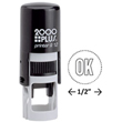 The Cosco 2000 Plus Printer R12 round stamp is the perfect self-inking stamp to create your professional seal stamp. Find it now at EZ Custom Stamps or call (608) 310-4300.