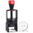 Looking for round self-inking stamp daters? Find the Cosco 2000 Plus R20456 round self-inking 2 color stamp dater with 4 lines of customization at the EZ Custom Stamps Store.