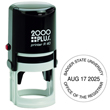 Need round self-inking stamp daters? Shop the Cosco 2000 Plus R40 one color round self-inking stamp dater with 6 lines of customization at the EZ Custom Stamps Store.