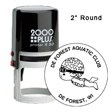 The Cosco 2000 Plus Printer R50 round stamp is the perfect self-inking stamp to create your professional stamp. Find it now at EZ Custom Stamps or call (608) 310-4300.