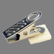 Need a name badge clip? This extra strong bulldog swivel clip will leave you confident your name badge will stay securely in place.