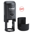 "Looking for stamp daters? Purchase this Trodat self-inking 3/4"" round stamp dater with up to 3 lines of customization at the EZ Custom Stamps Store."