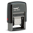 Looking for phrase stamp daters? Purchase this Trodat self-inking rectangular phrase stamp dater with 12 popular messages at the EZ Custom Stamps Store.