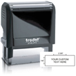 Need custom stamp daters? Check out our Trodat Printy 4913 self-inking rectangular stamp dater with up to 6 lines of customization at the EZ Custom Stamps Store.