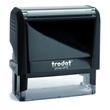 "Trodat Original Printy 4915 prints a rectangular impression that is 1"" high by 2-3/4"" wide. Printy 4915 is a self-inker with a replaceable, reinkable cartridge style pad."