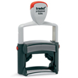 Leave your mark with the customizable Trodat 5204 self inking stamp. Personalize with up to six lines of text, original artwork or a signature. Popular uses for the Trodat 5204 include return address, signature, endorsement and custom-designed stamps.