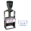 Do you need a rectangular 2 line stamp dater? Shop this Xstamper ClassiX model M41 for the perfect stamp dater for your workplace or home office.