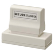 This large Xstamper pre-inked secure privacy stamp helps prevent identify theft and unlawful use of your sensitive information.