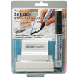 Protect all your data with Secure Stamper combo kit that includes one large stamp plus 4mm chisel marker. Special ink obscures text by blocking out sensitive information on mail, packages, prescription bottles, price tags and all your sensitive documents.