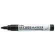 This black security marker helps prevent identify theft and unlawful use of your sensitive information. Shop the EZ Custom Stamp store today.