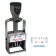 Xstamper ClassiX M41 metal frame dater. Date and number stamps increase productivity and efficiency for your business. Ideal for document control and organization and are best suited for quick, repetitive stamping.