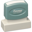 Shopping for a rectangular pre-inked stamper? This ecofriendly Xstamper N11 provides customization up to five lines and comes with a lifetime guarantee.