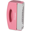 Pocket Stamp that supports breast cancer awareness! Stamp folds and won't leak - designed to fit into pocket, briefcase or purse. The ergonomic handle makes a handy carrying case. Often used as a return address, signature or notary pre-inked stamp.