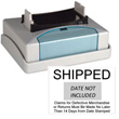 Xstamper N81 Custom Versadater Pre-Inked  Line Dater is the impression frame only. It adds more function and value to your existing N80 date stamp at a fraction of the cost. The N81 does not include Dater. Dater portion sold separately.