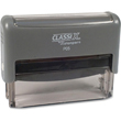 Looking for a rectangular stamp dater? This Xstamper ClassiX P05 model provides one line of customization and makes date stamping effortless.