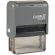 Looking for a rectangular stamp dater? This Xstamper ClassiX P08 model provides customization up to four lines and makes date stamping effortless.