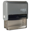 Looking for a rectangular stamper? This Xstamper ClassiX P09 model provides customization up to five lines and makes stamping effortless.