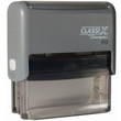 Looking for a rectangular stamper? This Xstamper ClassiX P12 model provides customization up to five lines and makes stamping effortless.