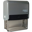 Looking for a rectangular stamper? This Xstamper ClassiX P14 model provides customization up to ten lines and makes stamping effortless.