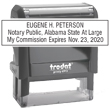 Looking for notary public stamps? Check out our Trodat self-inking Alabama Notary Public Stamp at the EZ Custom Stamps Store.
