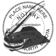 Looking for a North Dakota notary stamp embosser? Find your state's official notary stamp embosser on the EZ Custom Stamps store today.