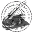 Looking for an Ohio notary stamp embosser? Find your state's official notary stamp embosser on the EZ Custom Stamps store today.