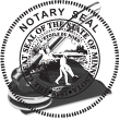 State of Minnesota notary public pocket seal. Simply click customize and type your name. Your notary public seal is shipped according to the State of Minnesota Notary Public guidelines. Your notary public embosser will be created with black ink.