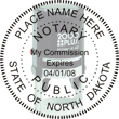 Looking for state notary stamps? Find the Cosco 2000 Plus self-inking North Dakota Notary Stamp at the EZ Custom Stamps Store.