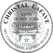 Looking for state notary stamps? Find the Cosco 2000 Plus self-inking New York Notary Stamp at the EZ Custom Stamps Store.