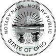 Looking for state notary stamps? Find the Cosco 2000 Plus self-inking Ohio Notary Stamp at the EZ Custom Stamps Store.