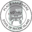 Looking for state notary stamps? Find the Cosco 2000 Plus self-inking Rhode Island Notary Stamp at the EZ Custom Stamps Store.