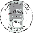 Looking for state notary stamps? Find the Cosco 2000 Plus self-inking Vermont Notary Stamp at the EZ Custom Stamps Store.