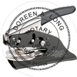 Looking for notary stamp embossers? Check out our Alaska public notary round stamp embosser at the EZ Custom Stamps Store.