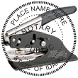 Looking for notary stamp embossers? Check out our Idaho public notary round stamp embosser at the EZ Custom Stamps Store.