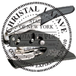 Looking for notary stamp embossers? Check out our New York public notary round stamp embosser at the EZ Custom Stamps Store.