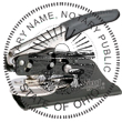 Looking for notary stamp embossers? Check out our Ohio public notary round stamp embosser at the EZ Custom Stamps Store.