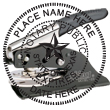 Texas state notary public pocket seal. Simply click customize and type your name. Your notary public seal is shipped according to the State of Texas Notary Public guidelines| EZ Custom Stamps (608) 310-4300