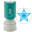 "Need a ""Blue Star"" message stamper? Buy this pre-inked Xstamper model 11421, a blue star message stamp perfect for the office."